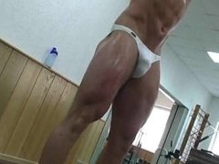 Young German Bodybuilder Weightlifting Part 2