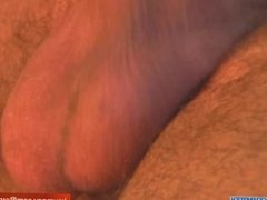 A real straight arab guy get wanked his hard cock in spite of him !