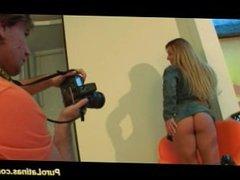 Puro latina babe takes big cock sex and cumshot load