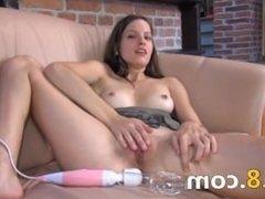 Czech beauty gaping her amazing hole