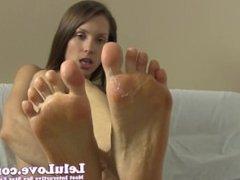 Lelu Love-Feet Toes Sucking Spitting