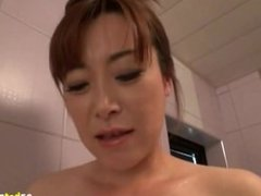 Breast Milk Spilling Out Asian Wife 1