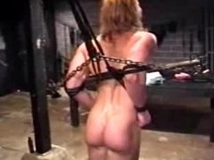 Blondy get a punishment