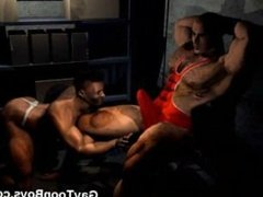 Muscled Gay Boys 3D Fantasy!