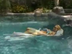 Nicole Coco Austin in the pool