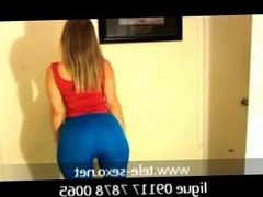 Woow Beauty Girl Video Tercer video Blue leggings disk-sexo.net 09117 7878