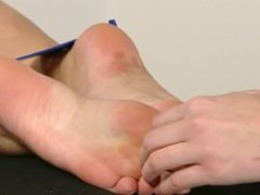 Czech Tickled Feet - Rose titilates Heaven's bare feet (2010) Heaven