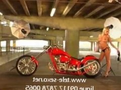 Motorcycle likes blond www.disk-sexo.net 09117 7878 0065