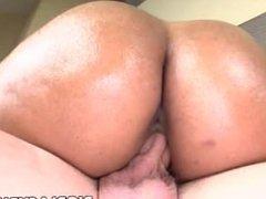 Sexy ebony Anita Peida gets fucked by white meat