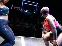Girls going hard at Booty Shaking Contest