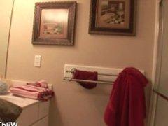 Unseen video featuring next door girl in very teasing x-rated behaviour