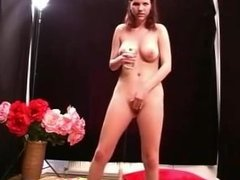 TEEN REDHEAD RIDES SYBIAN AND A COCK
