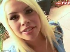Round arsed teenage in uniform Tara Lynn Foxx has A bump