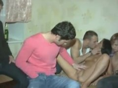 Triple cock for a young cuckold