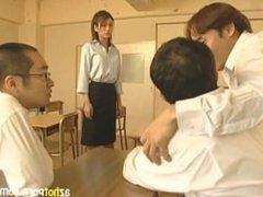 Horny Teacher Teaches Sex Education