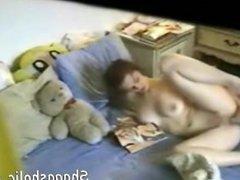 Brunette masturbating - Shagasholic-com