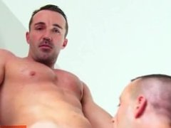 Sport guy serviced: Adam get sucked in spite of him by a guy!