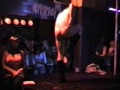 Stripper Lucas pops a boner