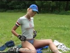 I think she doens t know how to play baseball