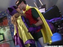 batgirl and robin having sex