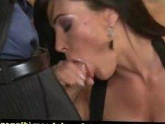 Sex during Dinner Whit Lisa Ann part 1