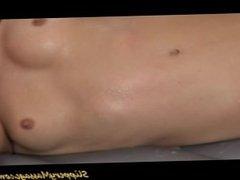 cute girl loves hot slippery nuru massage