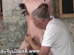 Gay video Sean McKenzie is trussed up and at the mercy of tormentor