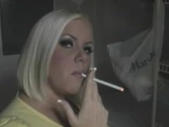 BBW Smoking Fetish MILF