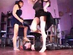 WomanWorship - Two Mistresses Foot Worship
