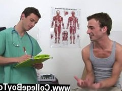Gay sex I needed to take a thorough exam of his meatpipe and scrotum to