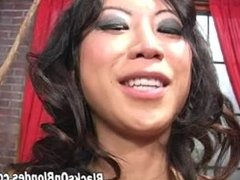 Tia Ling fucked inside out by 2 massive cocks part 1
