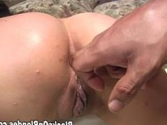 Tia Ling fucked inside out by 2 massive cocks part 3
