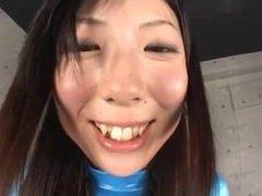 Japanese foot fetish tease