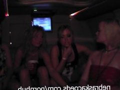Topless Beer Bong Fun and Limo Ride to the Bars Spring Break Rocks