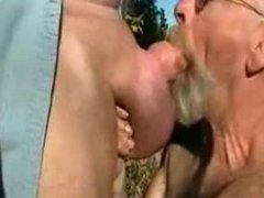daddy with big balls he fuck and cum