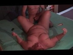 Homemade amateur bbw fuck anal cum in mouth and swallow