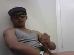Pinoy Gay Jerkoff Cute young dude