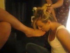 feet slave lick mistress