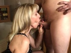 Bathroom Blow-Job with a 23 Year Old Fan