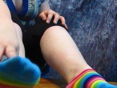 Mistress Red's Sweaty Feet