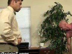 Gay porn Pervy manager Mitch Vaughn ultimately delves up enough leverage