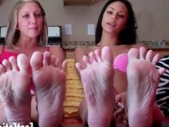 Our feet hurt after a long day at work can you massage them for us
