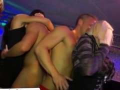 Party amateur with sluts fucked on the dancefloor in hd