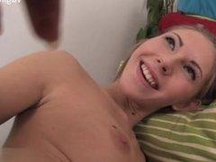 Natural tits model oral