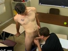 Gay porn Danny Brooks finds his student, Max Martin, putting in some time