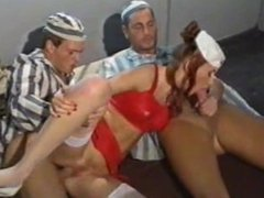 Mind-fuckingly beautiful nurse DP'd (Full)