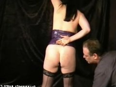 Rough slavesex and bizarre buttplugged domination of mature submissive hard