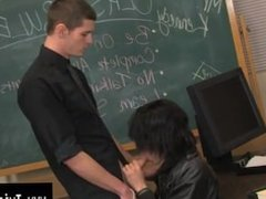 Gay clip of It's time for detention and Nate Kennedy, the teacher, is