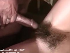 Retro gangbang in the full play