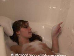 Bubble Bath Brunette